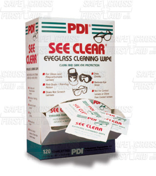 Lens Cleaning Towelettes (box of 120)
