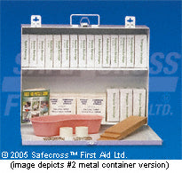 Ont Sec. 10, #6 First Aid Kit (16-200) Metal