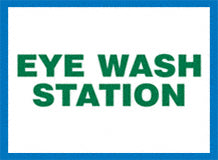 Sign - Eye Wash Station