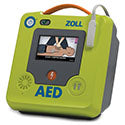 ZOLL AED 3 with wall mount