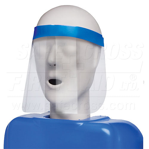 Face Shield, 3/4-Length, 18 x 31.4 cm, 25/Box