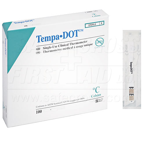 Thermometer, Tempa Dot 100/box