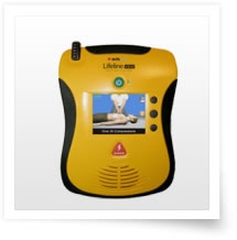 Lifeline View AED (English/French) with Carry