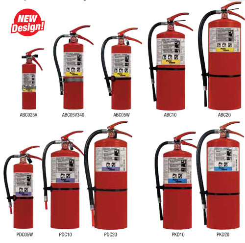 2.5 Lbs ABC Fire Extinguisher