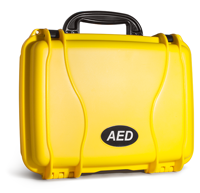 Yellow Hard Case for Lifeline AED