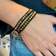 Green Jasper + Brown Leather with 925 Silver - Spirit Wrist Earth