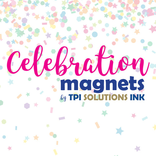 Celebration Car Magnets by TPI Solutions Ink