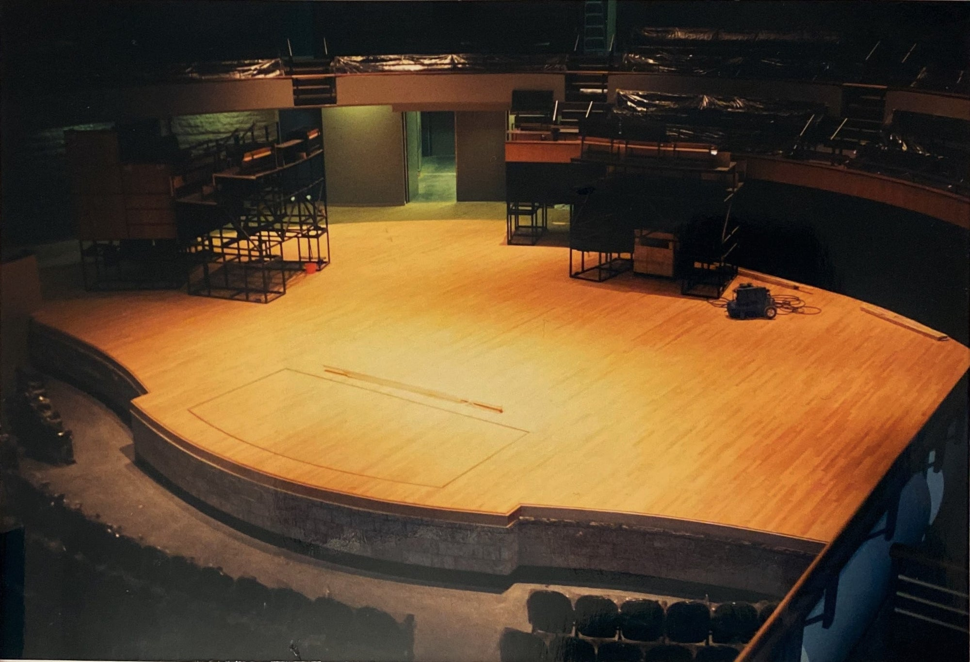 Alberta Hardwood Flooring, Sand and Refinish, The Winspear Center.