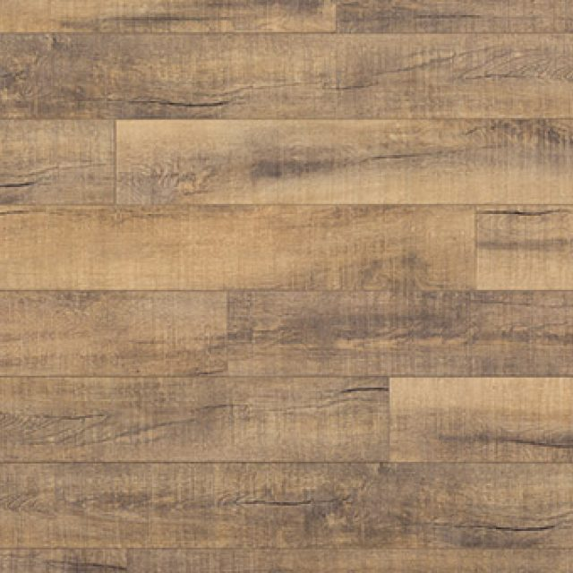 Evoke VCC Bridge Pam, a brown birch, embossed, wide plank vinyl in a low gloss finish.
