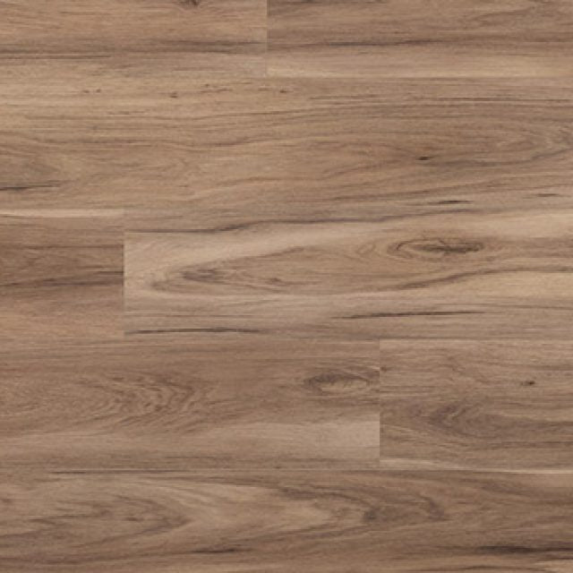 Evoke VCC Runway Peg, a warm, wood grained embossed, wide plank vinyl in a low gloss finish.