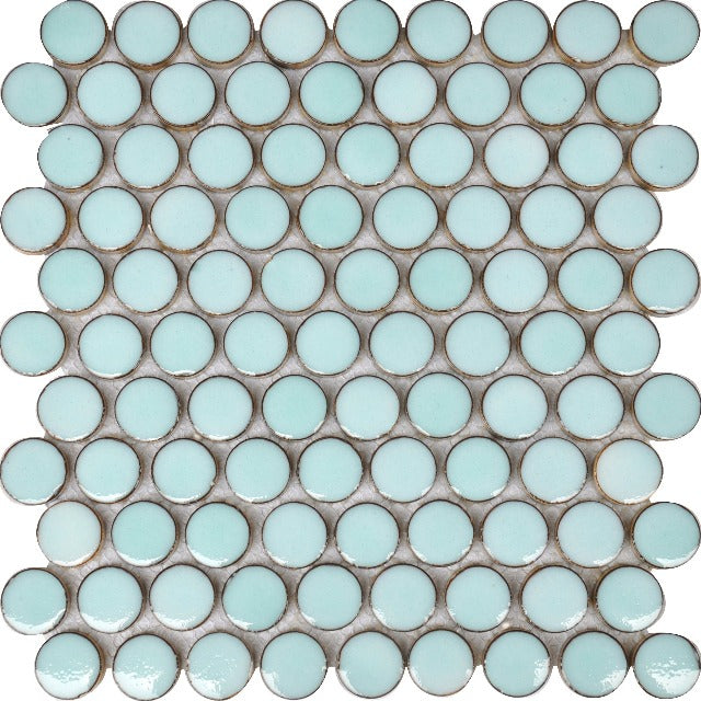 1 Inch Penny Round Mosaic
