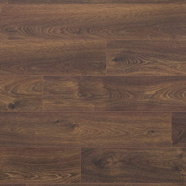 Evoke Laminate Promenade Rachael B., a wide plank, brushed, low gloss laminate, available at Alberta Hardwood Flooring.
