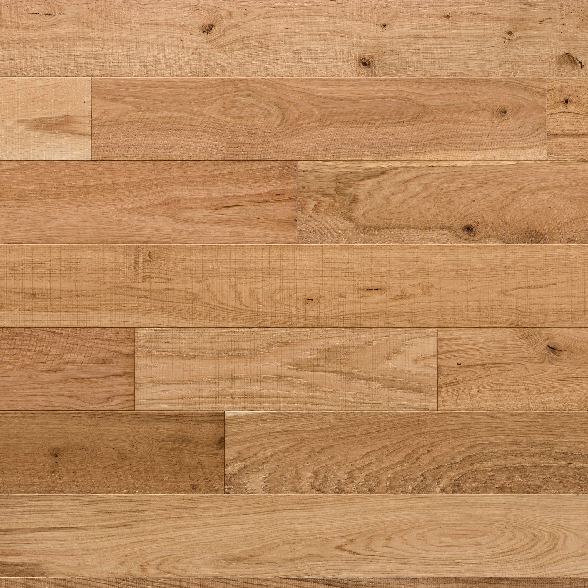Kentwood Brushed Oak Milltown Natural Frontier, a distressed natural oak with variation in a matte finish available from Alberta Hardwood Flooring Edmonton and Calgary.