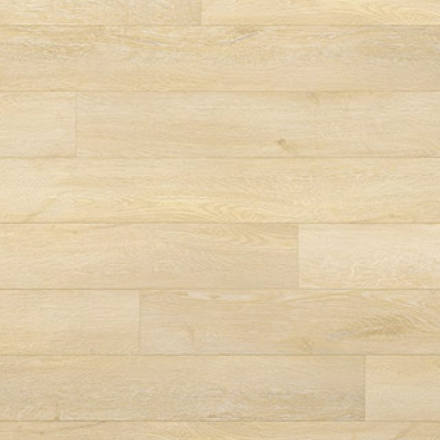 Evoke VCC Faith Bianca, a light oak, embossed, wide plank vinyl in a low gloss finish.