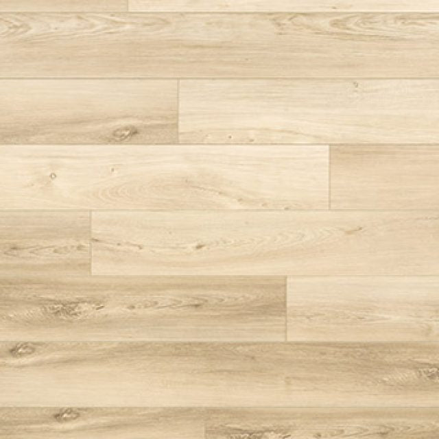 Evoke VCC Bridge Hope,  a light walnut, embossed, wide plank vinyl in a low gloss finish.