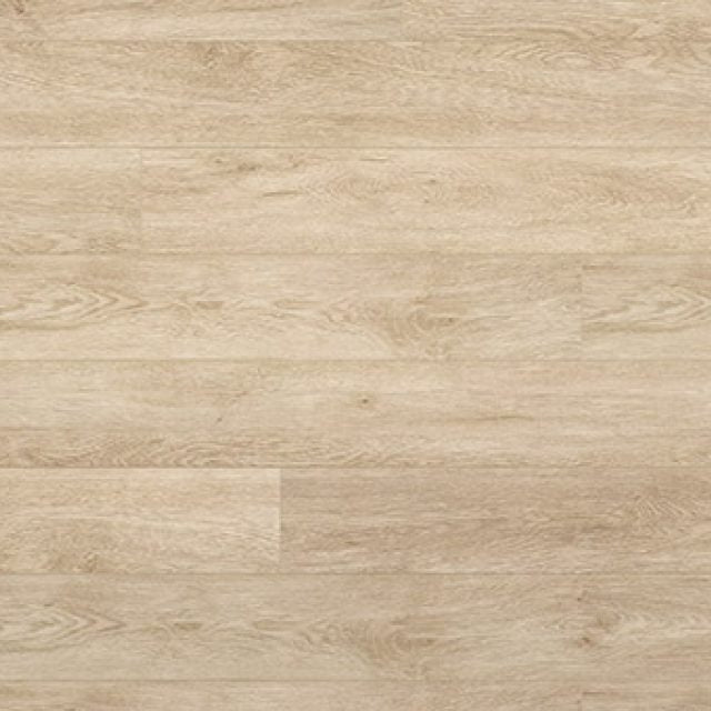 Evoke VCC Bridge Pierce a light oak, embossed, wide plank vinyl in a low gloss finish.