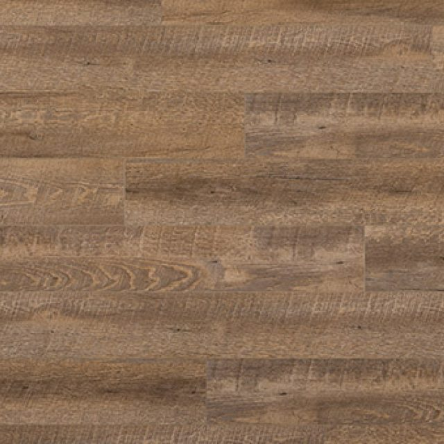 Evoke VCC Bridge Ferris, a brown oak, embossed, wide plank vinyl in a low gloss finish.