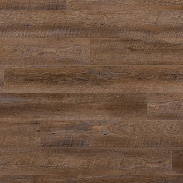 Evoke VCC Bridge Bianca, a brown oak, embossed, wide plank vinyl in a low gloss finish.