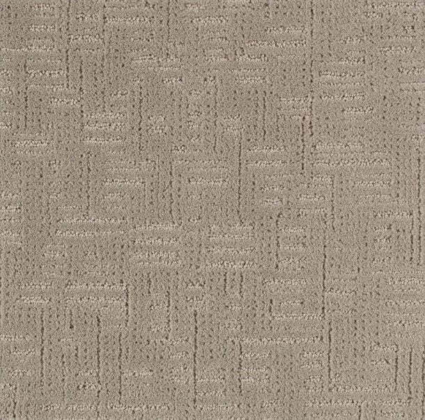 Karastan Fashion Conscience Satin Taupe Kashmere Nylon