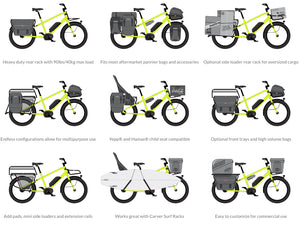 The Benno Boost ebike can be configured for significant utility.