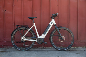 Gazelle Ultimate T10 electric bike outside