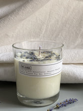 Load image into Gallery viewer, Lavender & Chamomile Soy Wax Candle - The Leukos Essentials