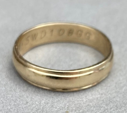 After Repair - Gold Band