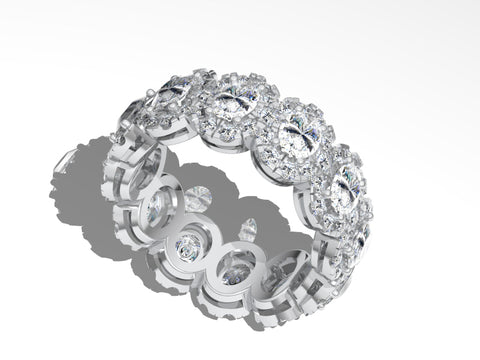 Diamond Eternity Band 1