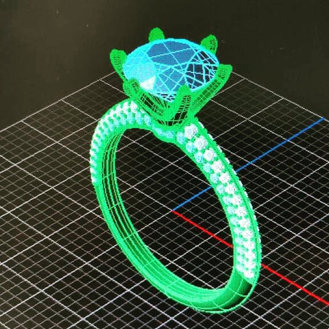 Making Of Engagement Ring  - Step 1