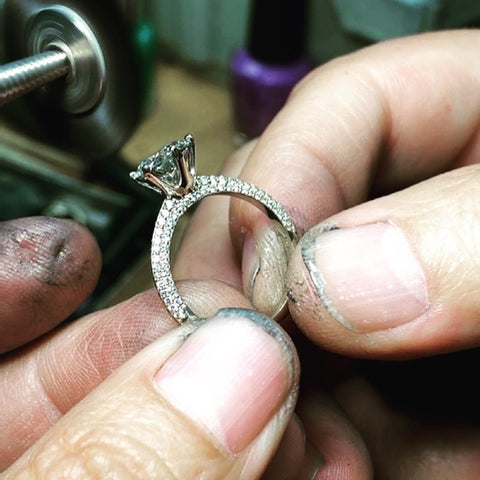 Making Of Engagement Ring  - Step 3