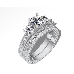 1.00 Carat 14K White Gold Ring