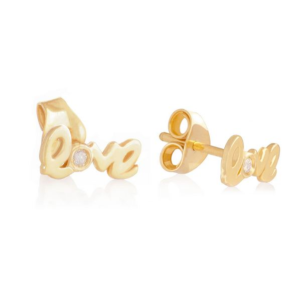 LOVE STUD EARRING