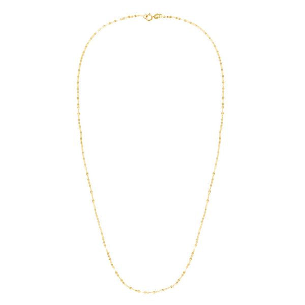 14K Yellow Vintage Mariner Necklace