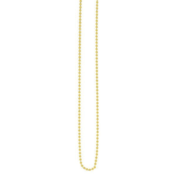14K Yellow Fancy Mariner 2.2mm Chain