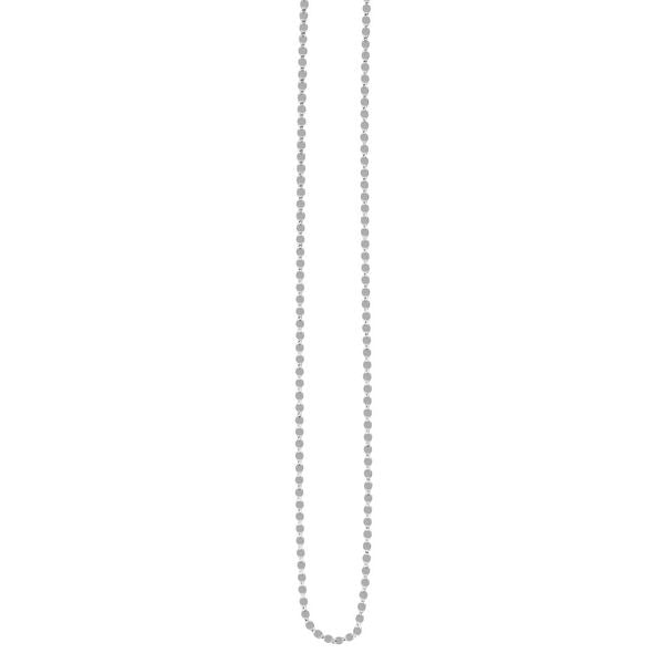 14K White Fancy Mariner 2.2mm Chain
