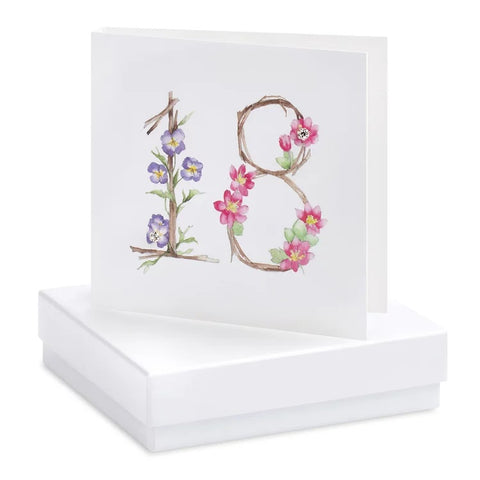 Boxed Birthday Earring Cards