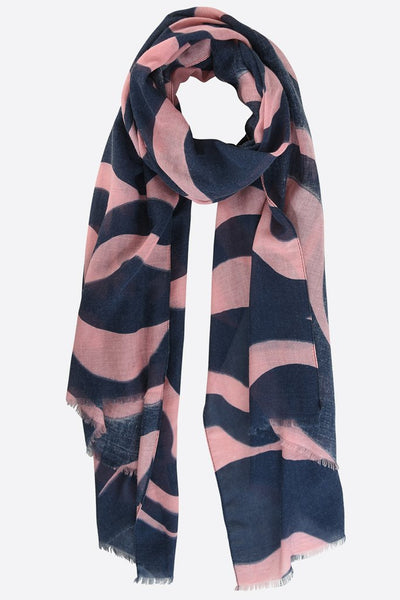 Abstract Stripe Scarf - 3 Colours