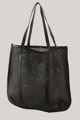 Tote Bag Large PE Rattan