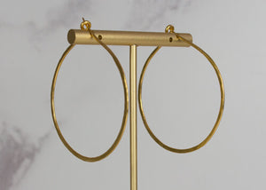 My Doris Large Gold Hoop