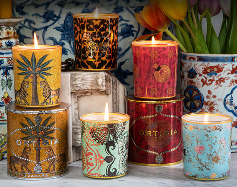 Ortigia NEW! Decorated Candles