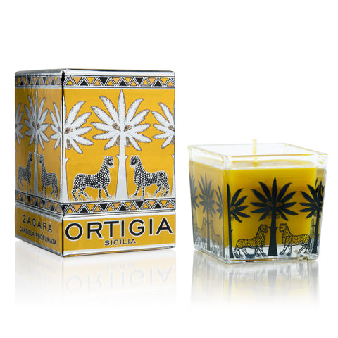 Ortigia Square Candles 110g
