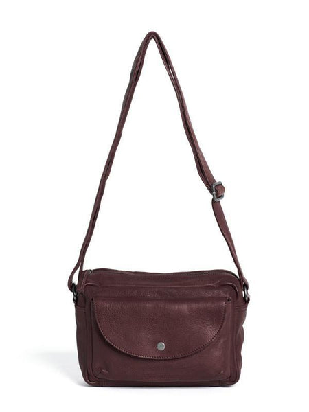 Carmel Bag in Burgandy