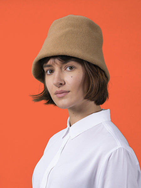Clochard Hat in Pure Merino Wool