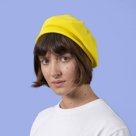 Cotton Roll Up Beret