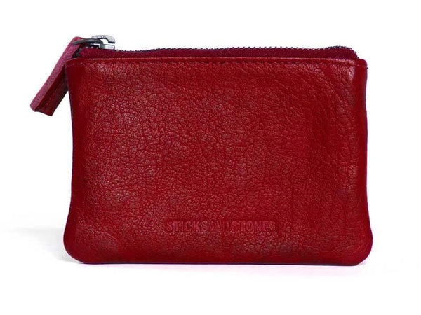 Nice Purse in Spruce Green, Red and Black