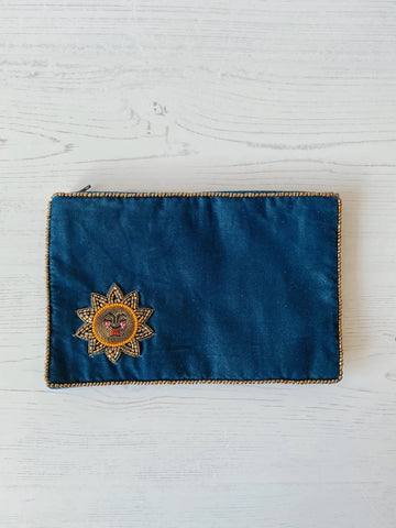 Purse Midnight Sun Velvet Large