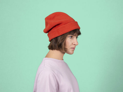 Woolen Roll Up Beret