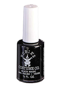 Halloween accessories Forum Novelties 13712 Makeup Black Nail Polish, color, One-Size, Multi, Pack of 1