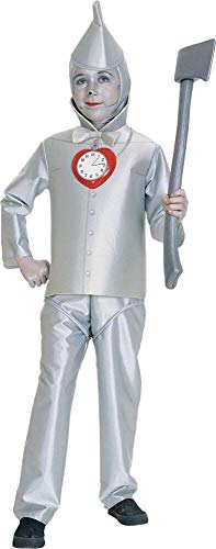 Wizard of Oz Child's Tin Man Costume, Large
