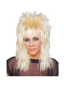 Costume Culture By Franco Llc 24608-01 Blonde Unisex Rocker Long Wig Adult